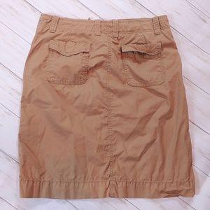 J. Crew Skirts - J CREW Twill Chino Skirt Size 8